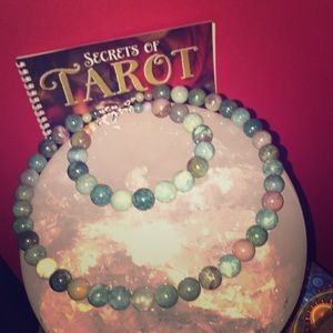 Jewelry - Jade Pearl Necklace and Bracelet